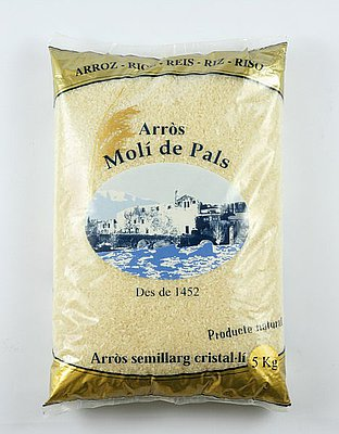 Arroz Semi-Largo Molí de Pals 5 kg