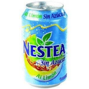 Nestea Limón Sin Azúcar Lata 33 cl