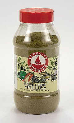 Especias para Pollos Burriac 400 G