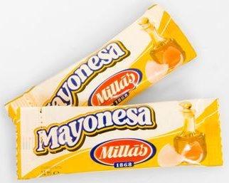 Mayonesa Porciones 200 uds Millàs 14 ml