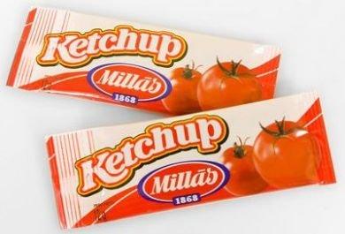 Ketchup Porciones Millàs 275 uds 12 g