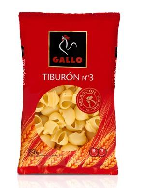 Pasta Tiburón Gallo nº 3 250 g