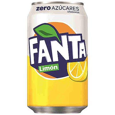 Fanta Limón Lata 33 cl Pack de 24