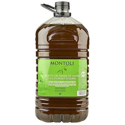 Aceite de Orujo Montoli Garrafa 5 L