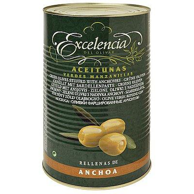 Aceituna Rellena de Anchoa Excelencia 5 Kg