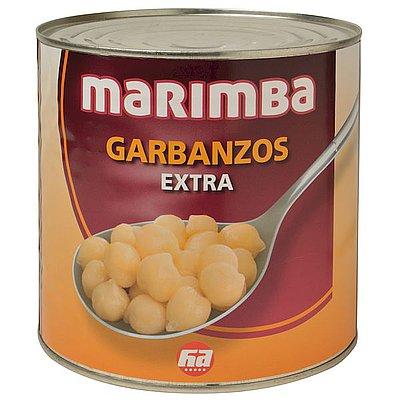 Garbanzos Extra Cocidos Marimba 3 Kg