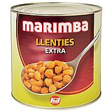 Lentejas Extra Cocidas Marimba 3 Kg