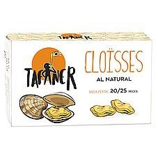 Almejas Al Natural Tafaner 20/25
