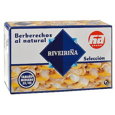 Berberechos Al Natural Riveiriña 45/55
