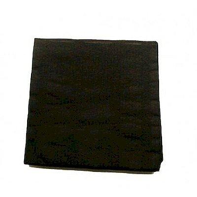 Servilletas Negras 2 capas y 20x20