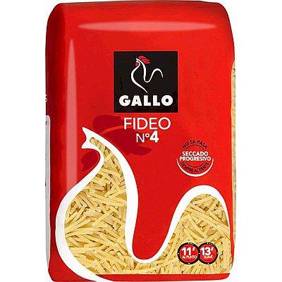 Fideos del Número 4 Gallo 250 g