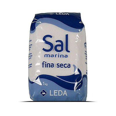 Sal Fina Seca Leda 1 Kg