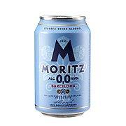 Cerveza Moritz 0,0 Lata 33 cl Pack de 24