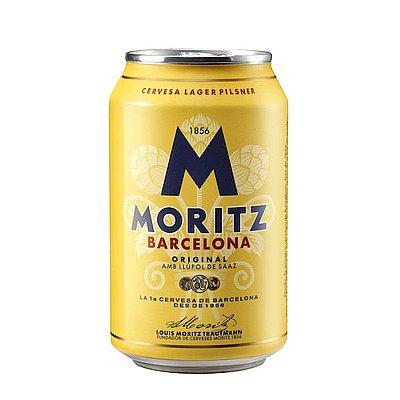 Cerveza Moritz Lata 33 cl Pack de 24