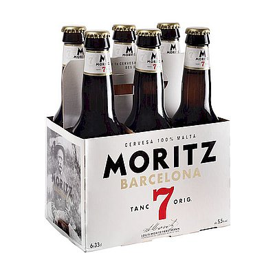 Cerveza Moritz 7 1/3 Pack de 6
