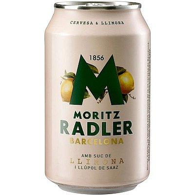 Cerveza Moritz Radler Lata 33 cl Pack de 24