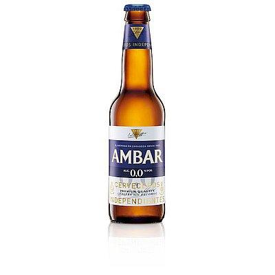 Cerveza Ambar 0,0 1/3 Pack de 6