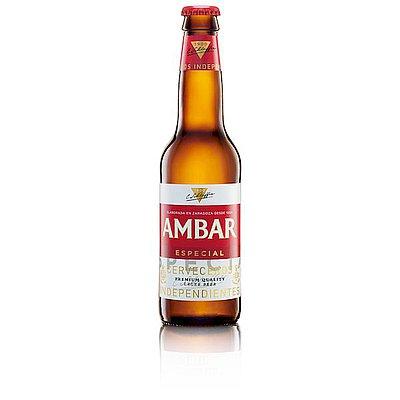 Cerveza Ambar Especial 1/3 Pack de 6