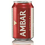 Cerveza Ambar Especial Lata 33 cl Pack de 24