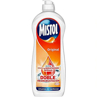 Lavavajillas Mistol Original 750 ml