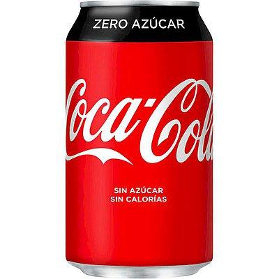 Coca-Cola Zero Lata 33 cl Pack de 24