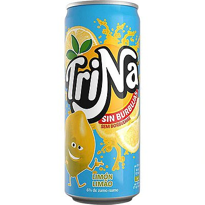 Trina Limón Lata 33 cl Pack de 24