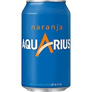 Aquarius Naranja Lata 33 cl Pack de 24
