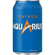Aquarius Naranja Lata 33 cl Pack de 24