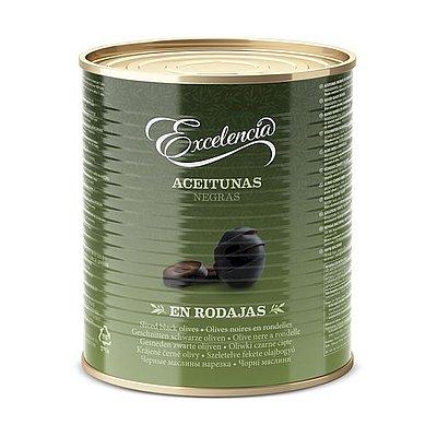 Aceituna Negra en Rodajas Excelencia 3 Kg