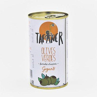 Aceituna Rellena de Anchoa Tafaner 370 g
